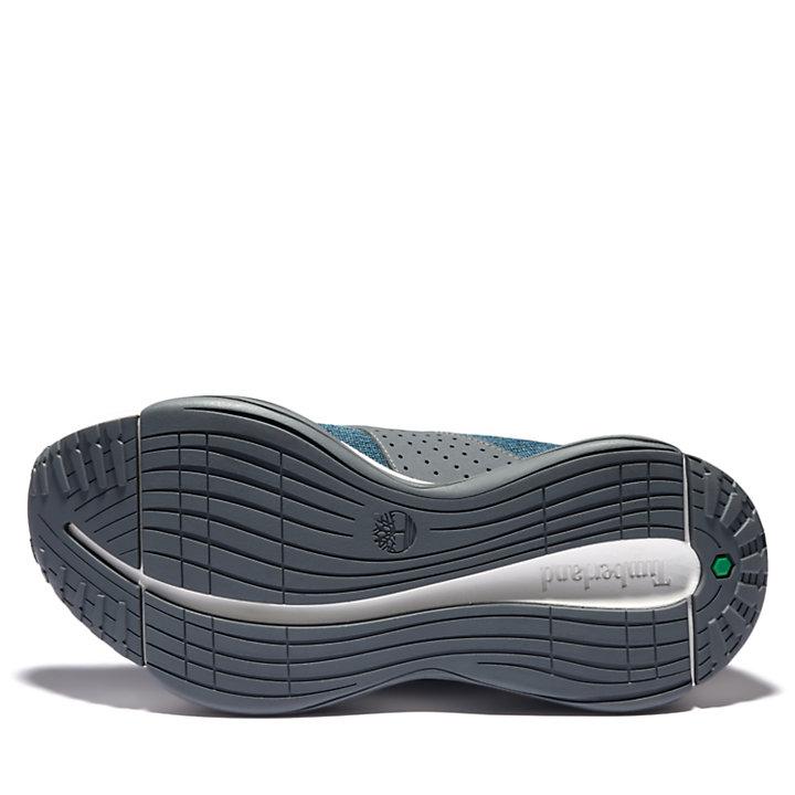 Zapatilla de Punto Emerald Bay para Mujer en azul verdoso-