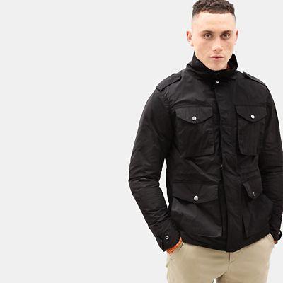 Gulf Peak Urban Field Jacket for Men in Black