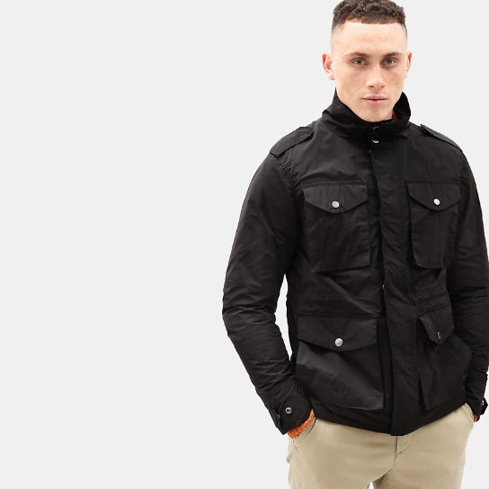 Gulf Peak Urban Field Jacket for Men in Black | Timberland