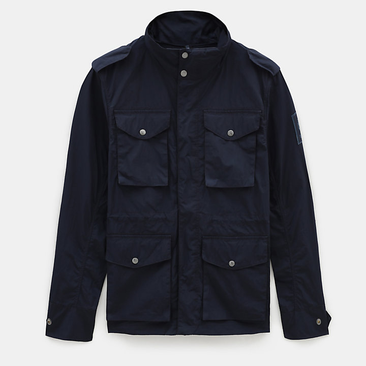 Gulf Peak Urban Field Jacket for Men in Navy-
