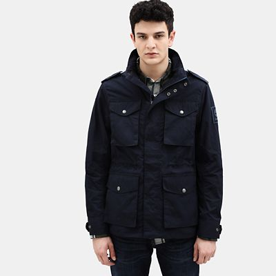 Gulf+Peak+Urban+Field+Jacket+for+Men+in+Navy