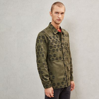 Timberland%C2%AE+x+Raeburn+Overshirt+for+Men+in+Green