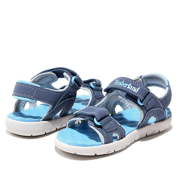 Perkins Row Strappy Sandal for Toddler in Dark Blue-