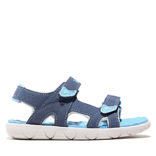 Perkins Row Strappy Sandal for Toddler in Dark Blue | Timberland