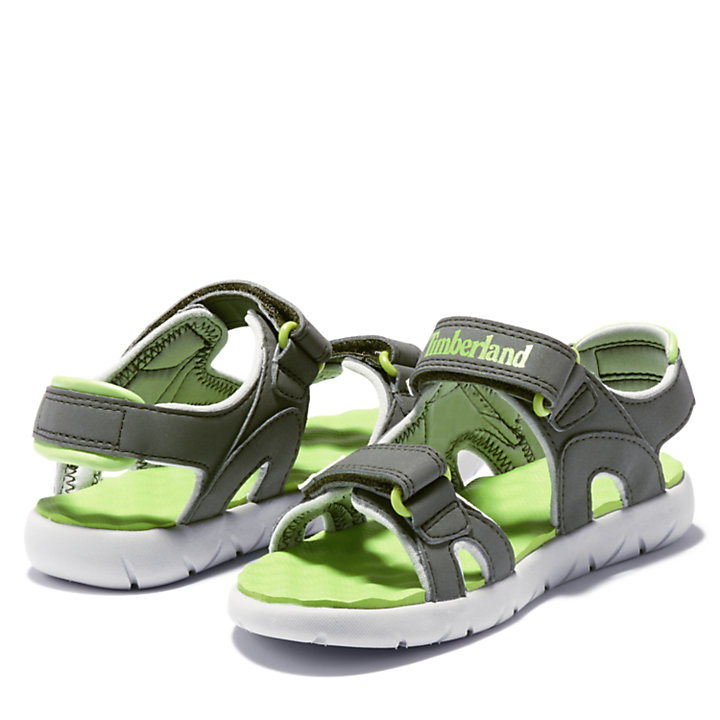 Perkins Row Sandal for Junior in Green-