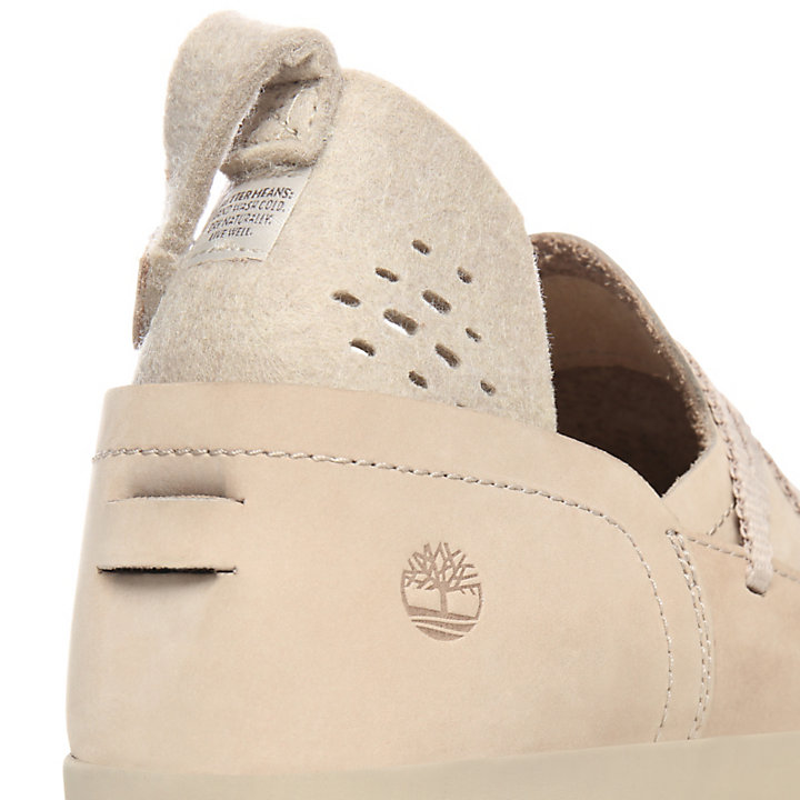 Project Better Boat Shoe for Women in Taupe-