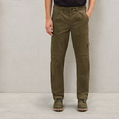 Timberland%C2%AE+x+Raeburn+Cargo+Trousers+for+Men+in+Green