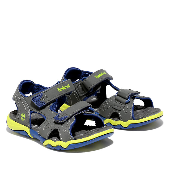 Adventure Seeker Sandal for Toddler in Grey-