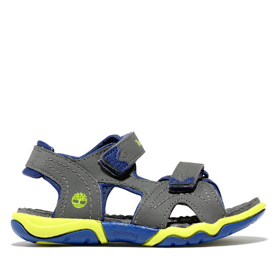 Adventure Seeker Sandal for Toddler in Grey | Timberland