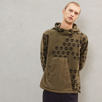 Timberland%C2%AE+x+Raeburn+Fleece+Hoodie+for+Men+in+Green