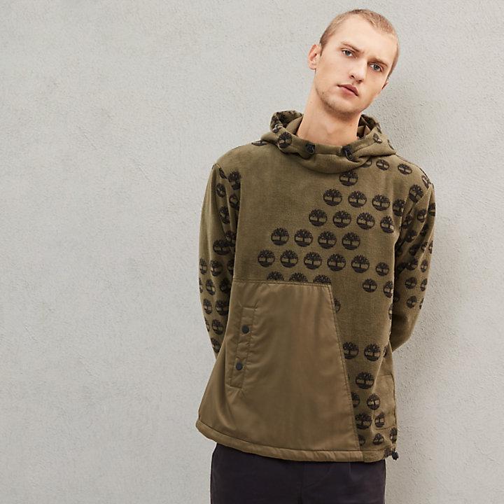 Timberland® x Raeburn Fleece Hoodie for Men in Green-