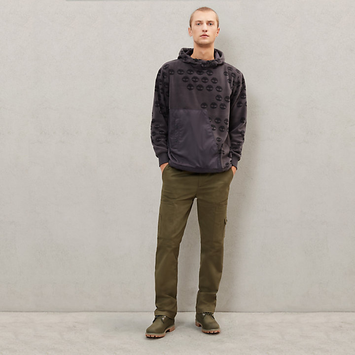 Timberland® x Raeburn Fleece Hoodie for Men in Grey-