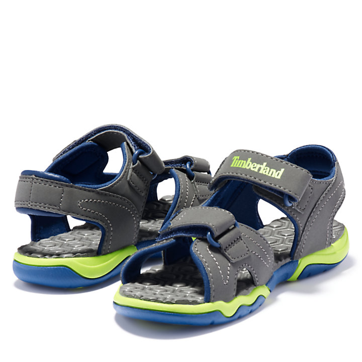 Adventure Seeker Sandal for Junior in Grey/Blue-