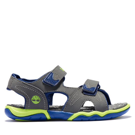 Adventure Seeker Sandal for Junior in Grey/Blue | Timberland