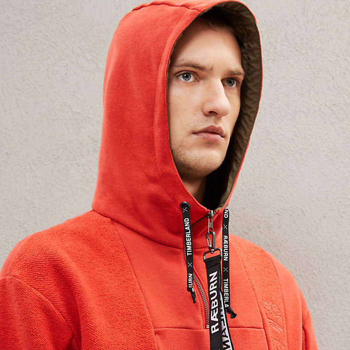 Timberland® x Raeburn Hoodie for Men in Red-