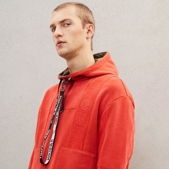 Timberland® x Raeburn Hoodie for Men in Red | Timberland