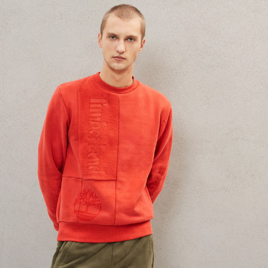 Timberland® x Raeburn Sweatshirt for Men in Red | Timberland