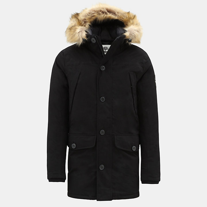 Boundary Peak Jacket for Men in Black-
