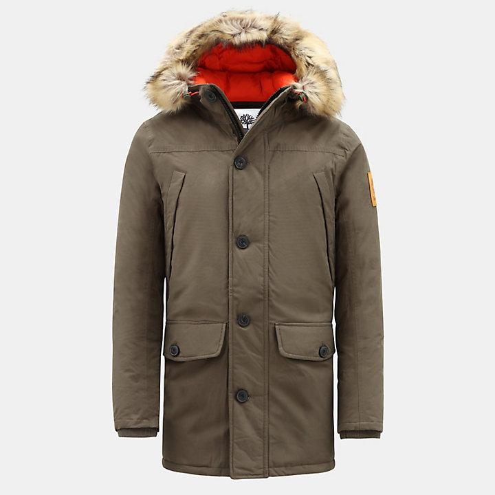 Boundary Peak Jacket for Men in Green-