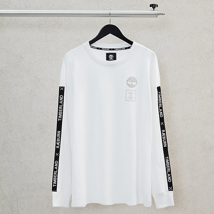 T-shirt da Uomo M/L Timberland® x Raeburn Bianca-