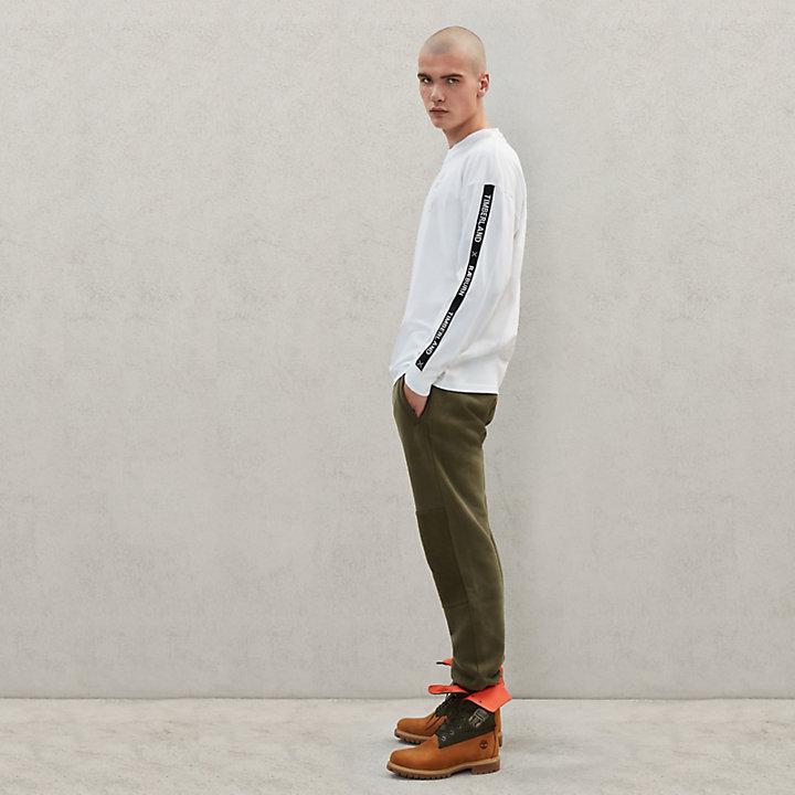 T-shirt Timberland® x Raeburn à manches longues pour homme en blanc-