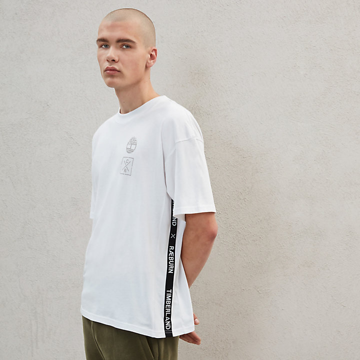 Timberland® x Raeburn T-Shirt for Men in White-