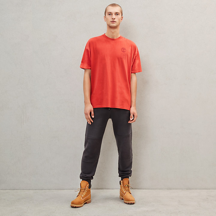 Timberland® x Raeburn T-Shirt for Men in Red-