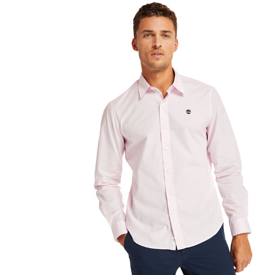 Eastham River Cotton Stretch Shirt for Men in Lilac | Timberland
