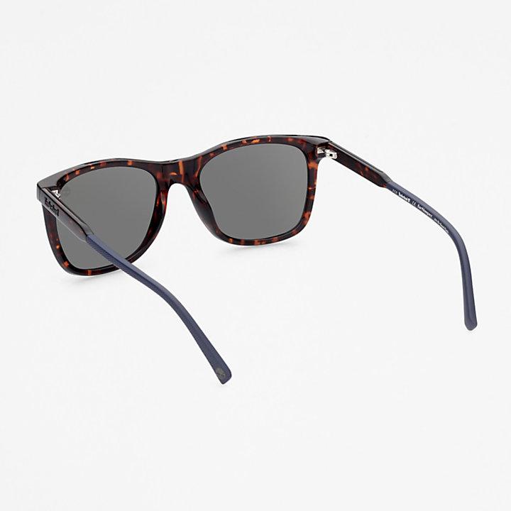 Timberland® Marcolin Vierkante zonnebril in bruin-