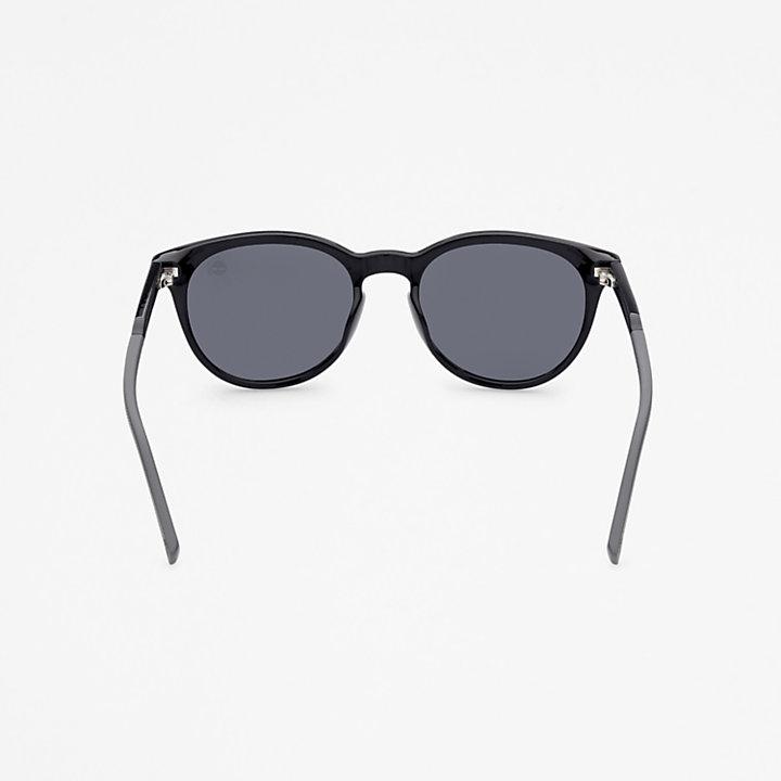 Occhiali da Sole Rotondi Timberland® Marcolin in colore nero-