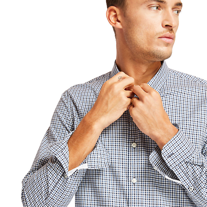 Camisa a Cuadros Vichy Suncook River para Hombre en azul-