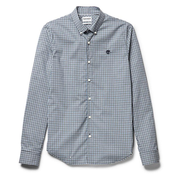 Suncook River Gingham Shirt for Men in Blue-