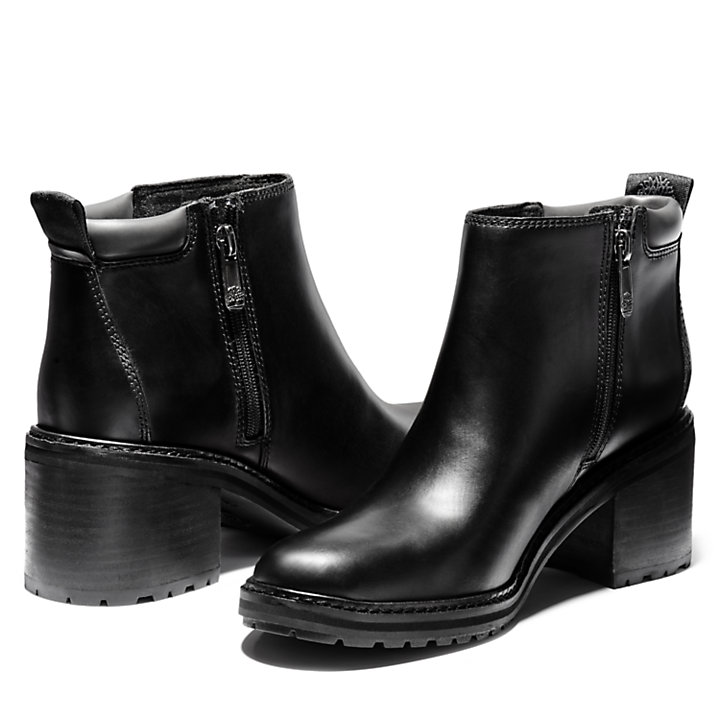 Sienna High Ankle Boot for Women in Black-