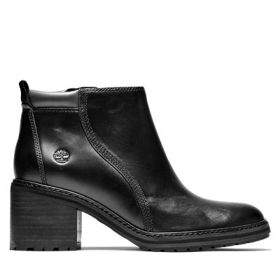 Sienna+High+Ankle+Boot+voor+dames+in+zwart