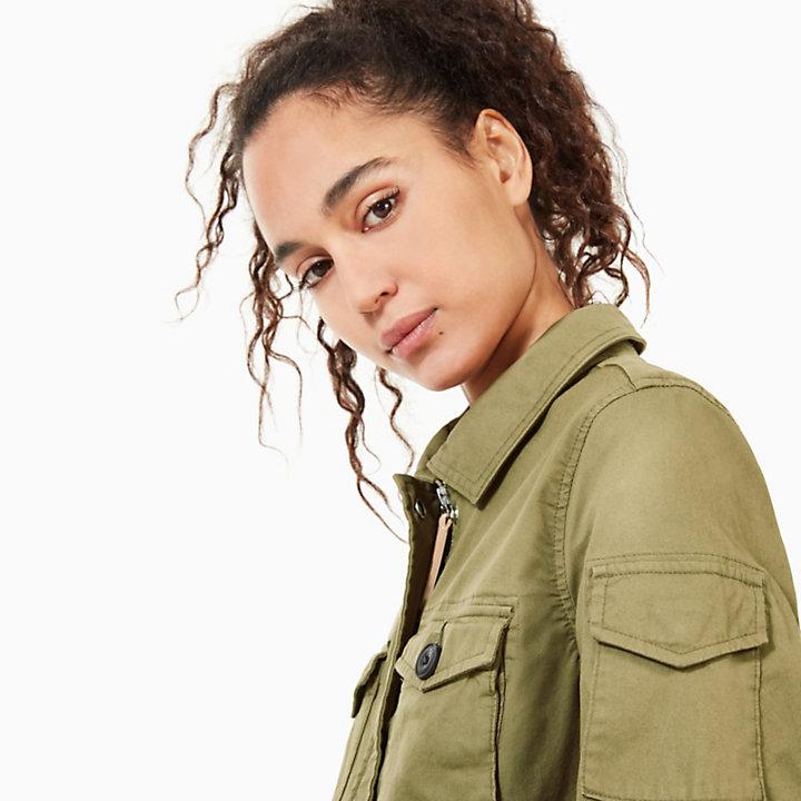 Cazadora para Mujer en Verde-