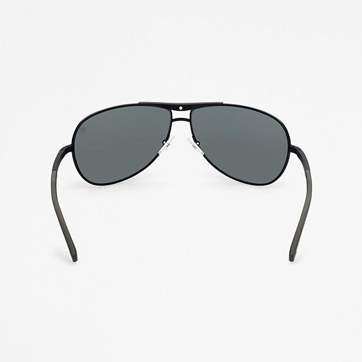 Timberland® Marcolin Modern Aviator Sunglasses in Black-