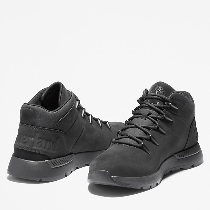 Sprint Trekker Mid Boot for Men in Black-