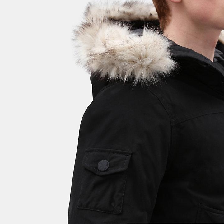 Scar Ridge Snorkel Jacket for Men in Black-