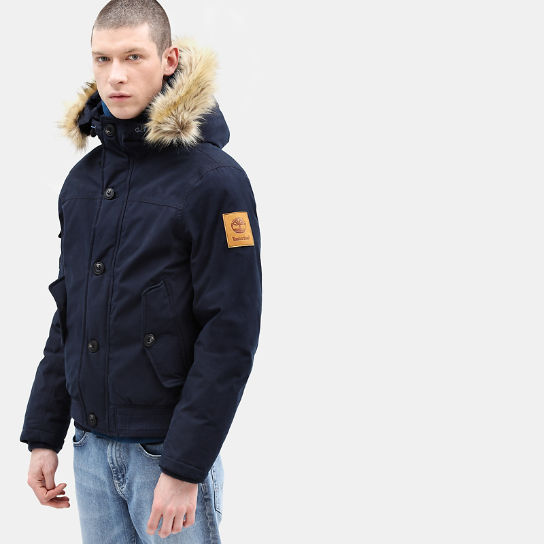 Scar Ridge Snorkel Jacket for Men in Navy | Timberland