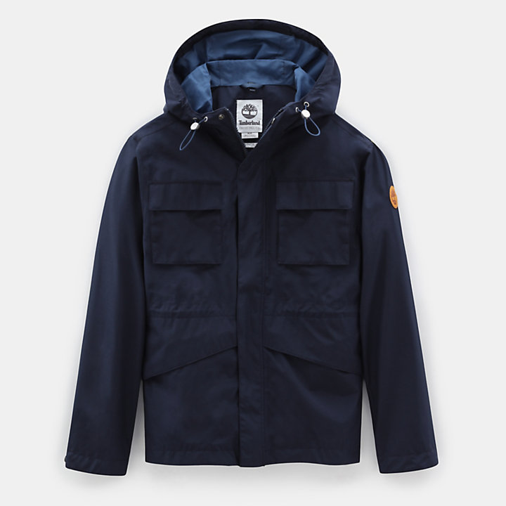 Mt Clay Waterproof Jacket for Men in Navy-