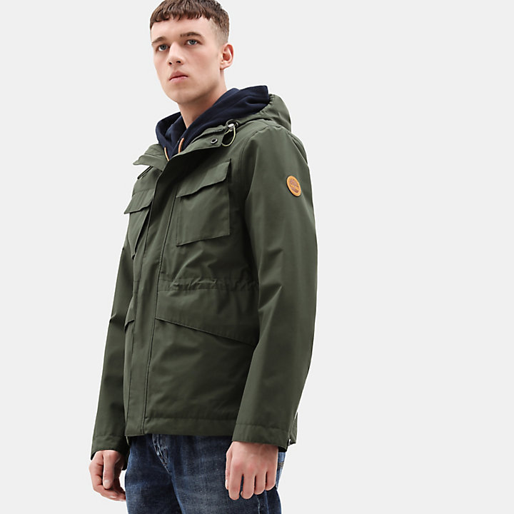 Mt Clay Waterproof Jacket for Men in Green-