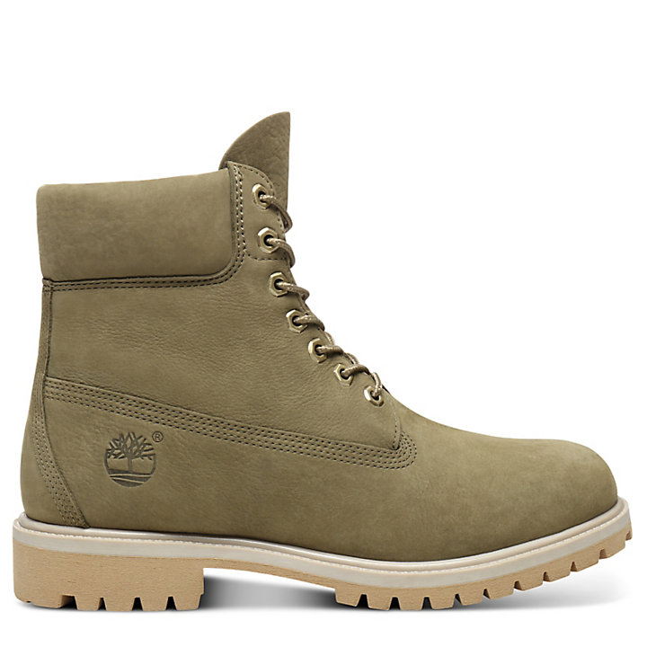 Premium 6 Inch Boot for Men in Green-
