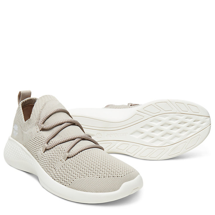 Flyroam Go Sneaker voor Dames in Taupe-