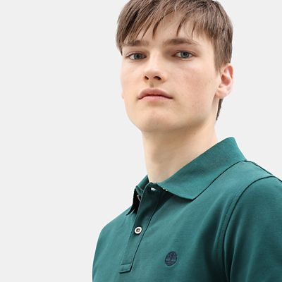 Millers+River+Polo+Shirt+for+Men+in+Green