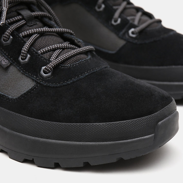 Field Trekker Low Hiker Boot for Men in Black-