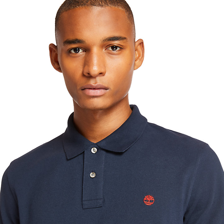 Millers River Regular Polo Shirt for Men in Navy-