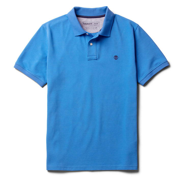 Millers River Polo Shirt for Men in Blue-