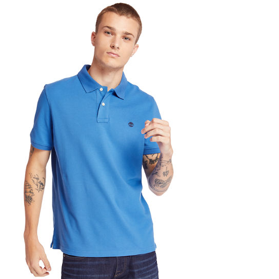 Millers River Polo Shirt for Men in Blue | Timberland