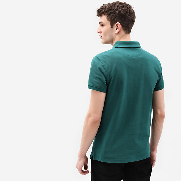 Millers River Regular Polo Shirt for Men in Green-