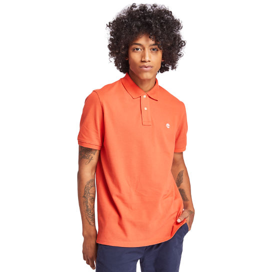 Millers River Polohemd für Herren in Orange | Timberland